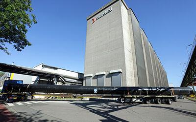 Neuer Röhrenspeicher im Saarstahl-Werk Neuenkirchen spart deutlich Energie