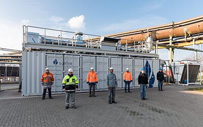 Weltweit größte Hochtemperatur-Elektrolyse in Salzgitter startet Probebetrieb
