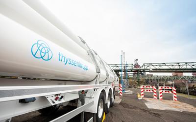 Wasserstoff im Hochofen: thyssenkrupp Steel schließt erste Versuchsphase ab